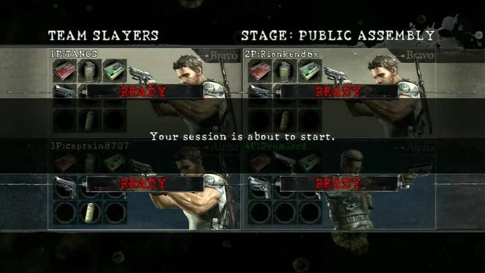 Modo Versus é um dos bônus da versão ouro de Resident Evil 5 (Reprodução/Youtube)