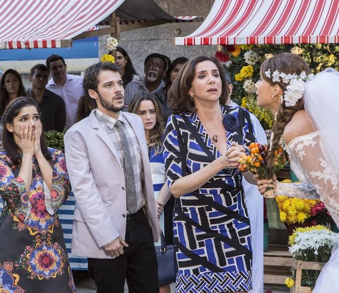 Família de Tancinha também fica em choque (Foto: Felipe Monteiro/Gshow)