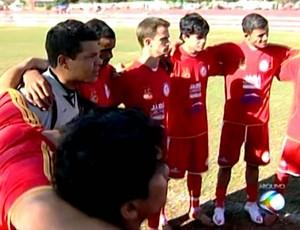 Ipiranga Futebol Amador Amadorão Uberaba (Foto: Reprodução/ TV Integração)