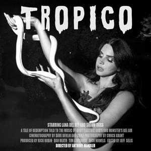 Lana Del Rey divulga capa do curta 'Tropico' (Foto: Divulgação)