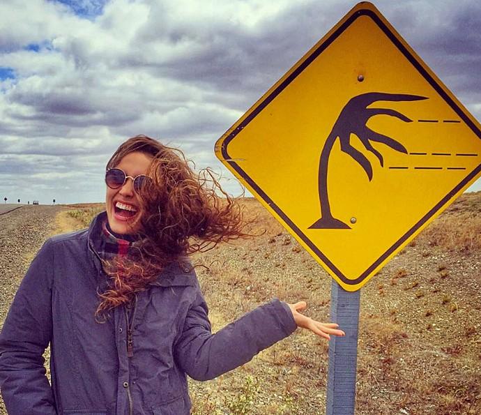Amanda Richter conta que sempre sonhou em conhecer lugares distantes (Foto: Arquivo pessoal)
