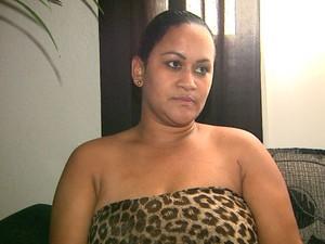 Juliana diz que filho não volta mais para a escola após episódio da fuga (Foto: Ronaldo Gomes / EPTV)