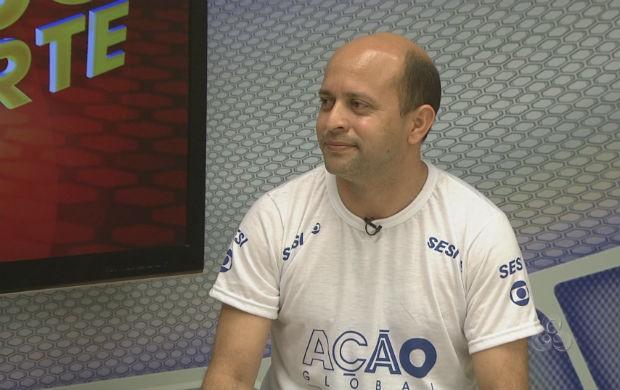 Gerente de Vida Saudável do SESI, Fábio Cambraia (Foto: Reprodução/TV Amapá)