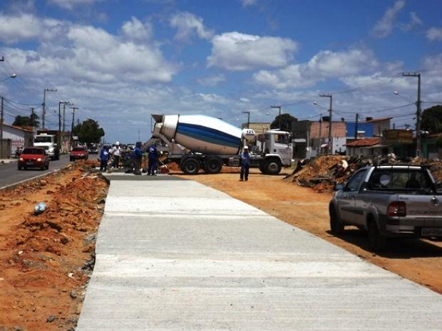 Obras do anel viário avançam na Zona Norte de Natal (Foto: Celly Maia/Assecom-RN)