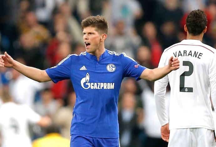 Huntelaar Schalke X REal MAdrid (Foto: Agência AP)