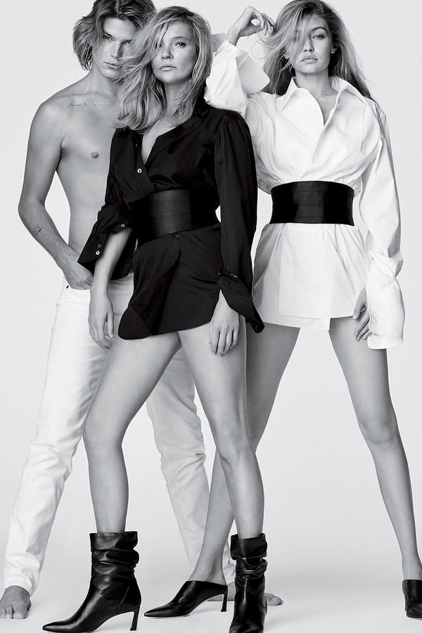 Gigi Hadid e Kate Moss (Foto: Instagram/Reprodução)