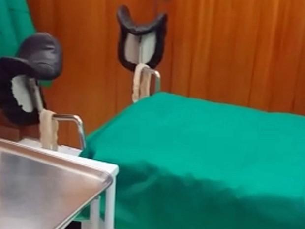 Médicos foram flagrados realizando procedimento abortivo em gestante dentro de clínica de aborto em Copacabana, na Zona Sul do Rio (Foto: Divulgação/Polícia Civil)