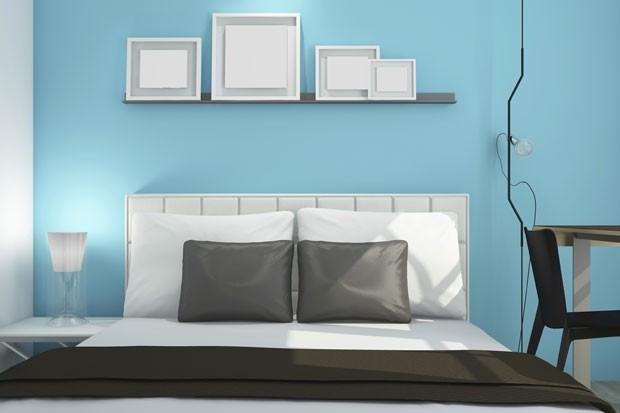 Quarto Pintado De Azul Garante Melhor Noite De Sono Mostra Estudo - Paredes-pintadas-de-azul