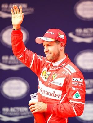 Sebastian Vettel no GP da China