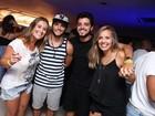 Bruno Gissoni, Felipe Simas e mais famosos curtem show de Anitta no Rio