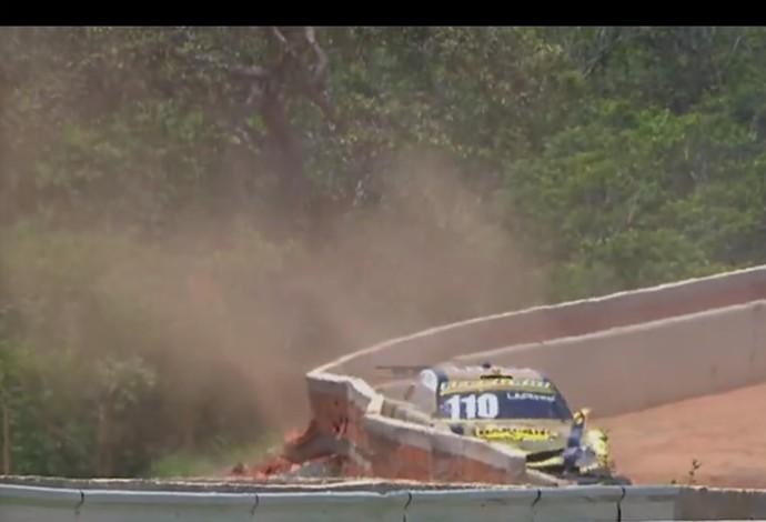 stock car acidente felipe lapenna (Foto: Reprodução SporTV)