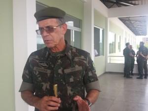 obra, infantaria, exército, brigada, macapá, amapá (Foto: Jéssica Alves/G1)