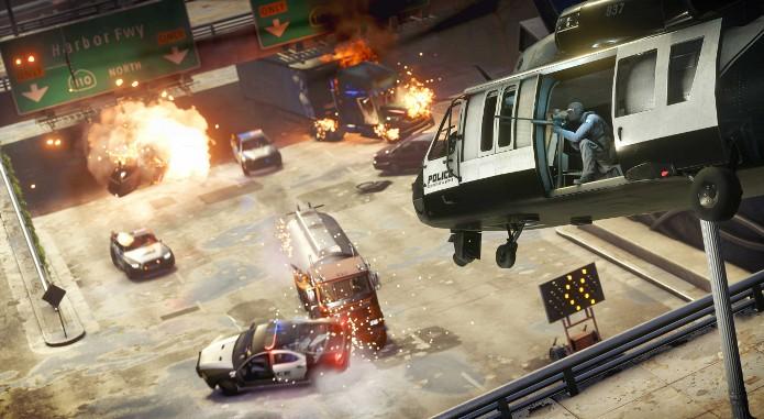 Fique atento com a resistência de seu helicóptero durante as batalhas (Foto: Divulgação)