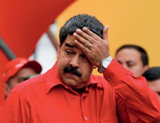 Nicolás Maduro presidente da Venezuela (Foto:  Carlos Garcia Rawlins / Reuters)