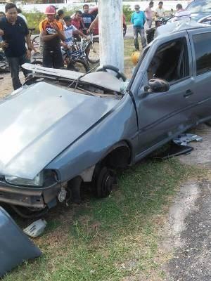 acidente salinas (Foto: Divulgação/Polícia Civil)