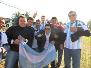 torcida argentina la serena (Foto: Edgard Maciel de Sá)