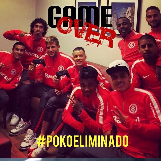 Corneta Inter Tigres Libertadores (Foto: Reprodução/Twitter)