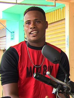 Denisson Motoboy (Foto: Reprodução / TV Sergipe)