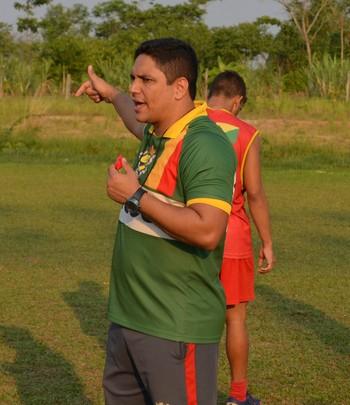 Pablo Simões, técnico do Galvez Sub-19 (Foto: Murilo Lima)