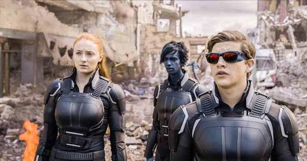 Os heróis da franquia X-Men em cena de X-Men: Apocalipse (2016) (Foto: Reprodução)