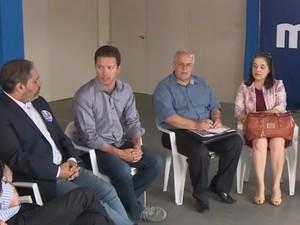 Nelson Marchezan Júnior (PSDB) falou sobre propostas para a saúde do idoso (Foto: Reprodução/RBS TV)