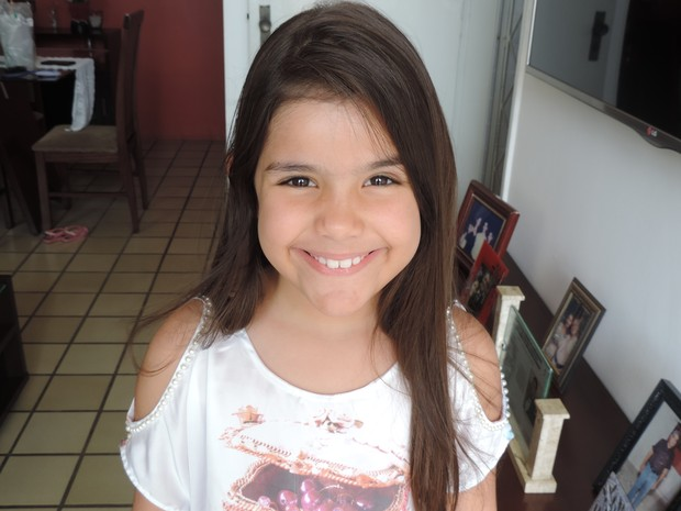 Mini Miss Brasil quer ser médica  (Foto: Maria Luiza Veiga/G1)