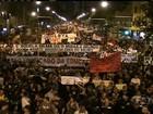 Professores protestam contra plano de cargos e salários no Rio de Janeiro