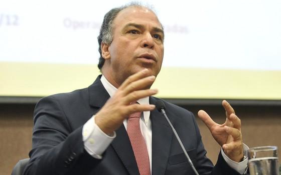 Fernando Bezerra (PSB)  deixou o cargo de ministro da Integração Nacional nesta terça-feira (1º)  (Foto: Antonio Cruz / ABr)