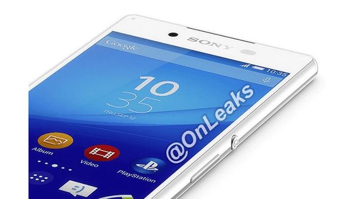 Imagem vazada do suposto top Xperia Z4 da Sony (foto: Reprodução/OnLeaks)