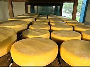 Governo muda as regras para venda do queijo artesanal de MG (Foto: Reprodução/TV Globo)