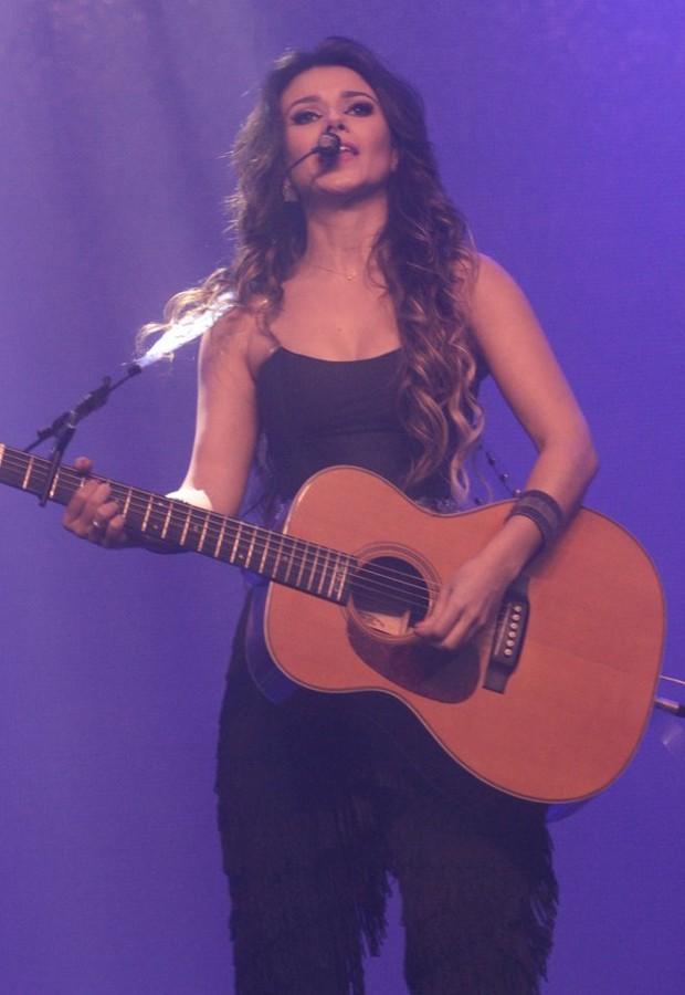 Paula Fernandes (Foto: Léo Franco/AgNews)