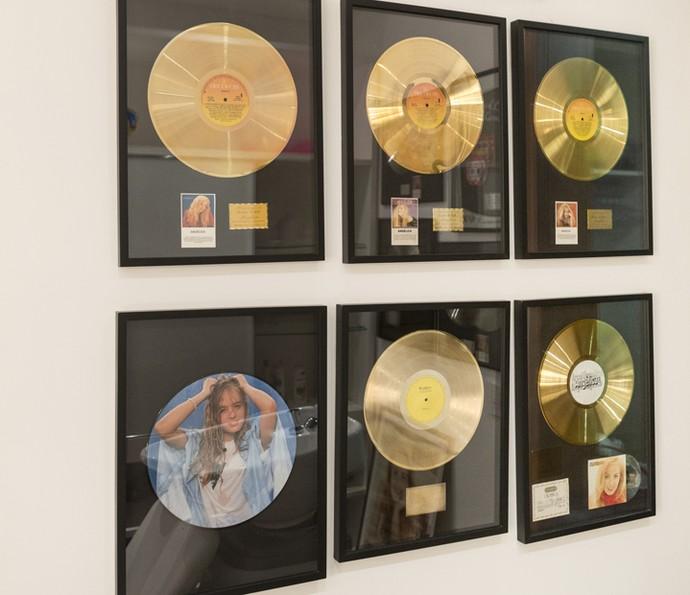 Angélica coleciona discos de ouro (Foto: Felipe Monteiro / Gshow)
