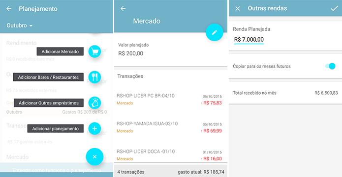 Estabeleça metas de gastos e até de renda por mês (Foto: Reprodução/Paulo Alves)