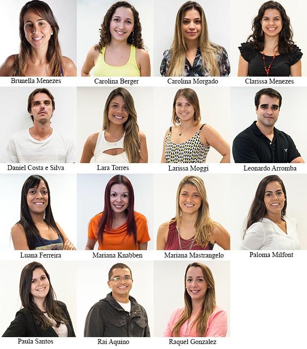 Equipe produção de conteúdo (Foto: SuperStar / TV Globo)