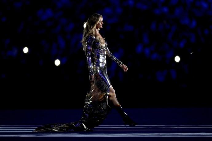Gisele Bundchen na cerimônia de abertura da Rio 2016 (Foto: Getty Images)