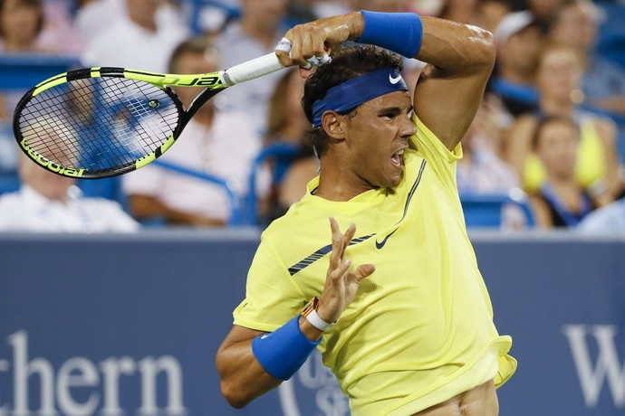 Rafael Nadal Cincinnati (Foto: AP Photo/John Minchillo)