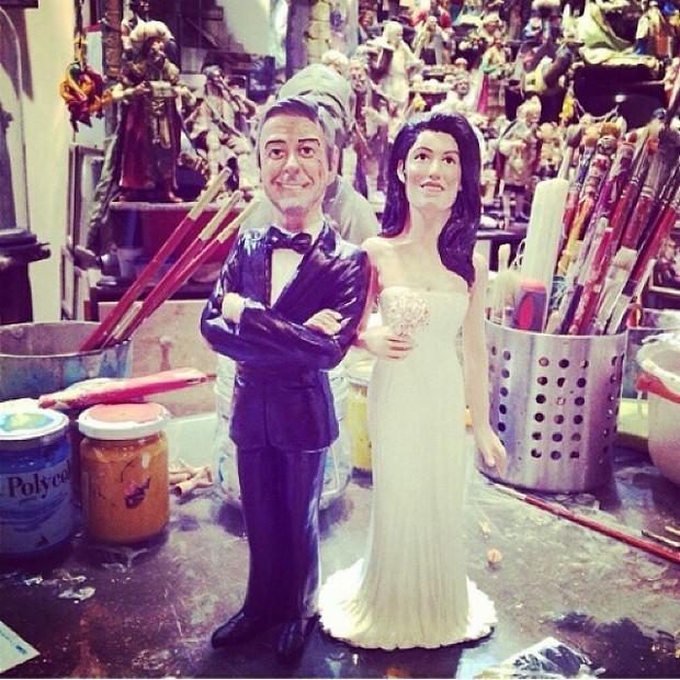George Clooney se casa em Veneza