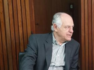 Pimenta da Veiga é pré-candidato ao governo de MG pelo PSDB (Foto: Pedro Triginelli/G1)