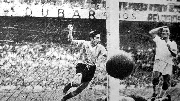gigghia uruguai brasil copa do mundo de 1950 maracanazo (Foto: agência AP)