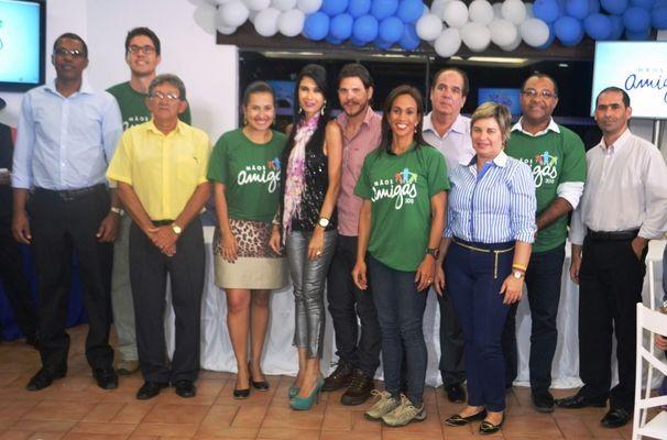 A equipe Verde está muito entusiasmada com o projeto (Foto: Divulgação / TV Sergipe)