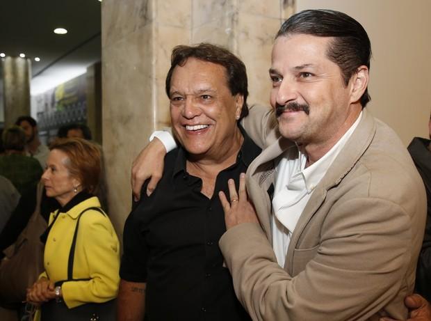 Denis Carvalho e Marcelol Serrado (Foto: Marcos Serra Lima / Ego)