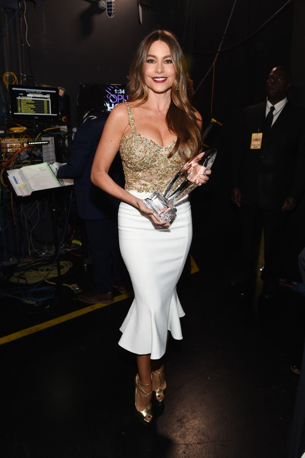 Sofia Vergara no People's Choice Awards  (Foto: Getty Images)