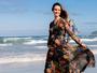 Carolina Kasting exibe barriga de grávida em ensaio: '25 semanas'