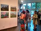 Mostra em Teresópolis, RJ, reúne 61 trabalhos entre pinturas e desenhos