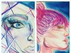 Desenhos de Sasha ganham elogios em rede social