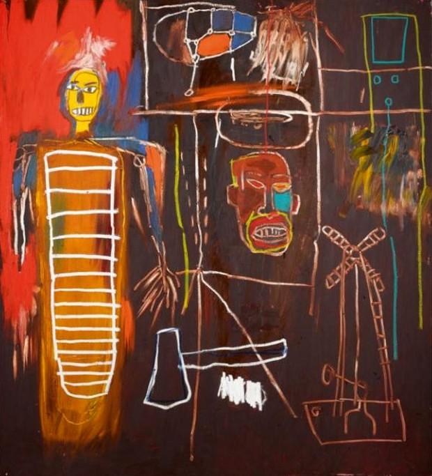 'Air Power', de Jean-Michel Basquiat (Foto: Divulgação)