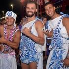 Foliões se despedem do carnaval  (Diogo Macedo/Ag Haack)