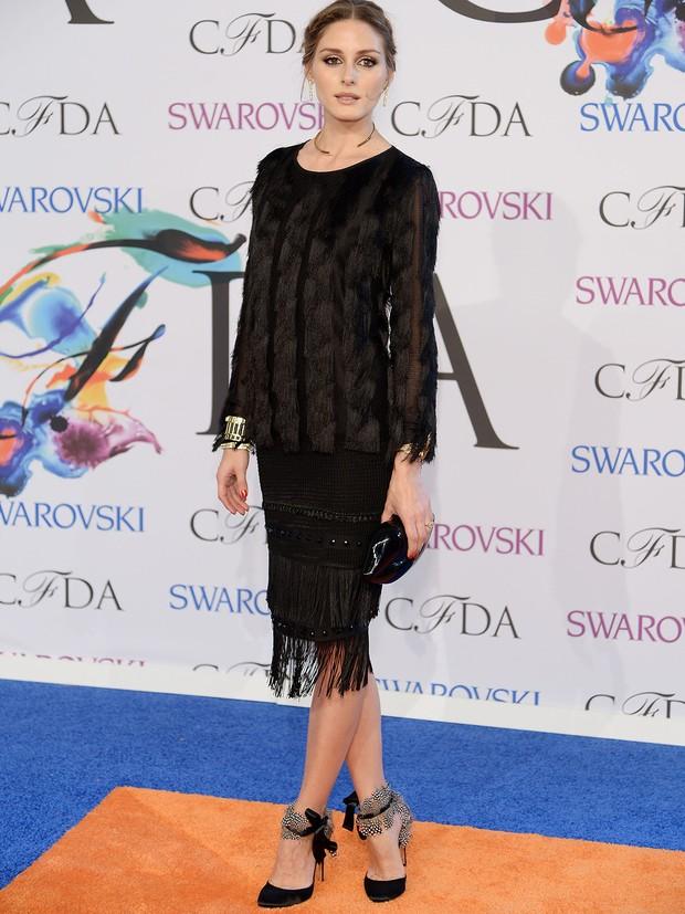 Olivia Palermo no CFDA Awards (Foto: AFP / Agência)