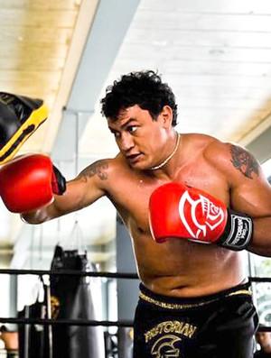 boxe popó treino (Foto: Arquivo Pessoal do treinador)