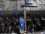 Após fechar Ponte, manifestação do Comperj chega à Petrobras
